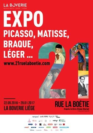 21 rue la Boétie (verlängert bis 19.02.2017)